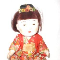 Muñecas Extranjeras: MUÑECO JAPONES ANTIGUO. Lote 30646810