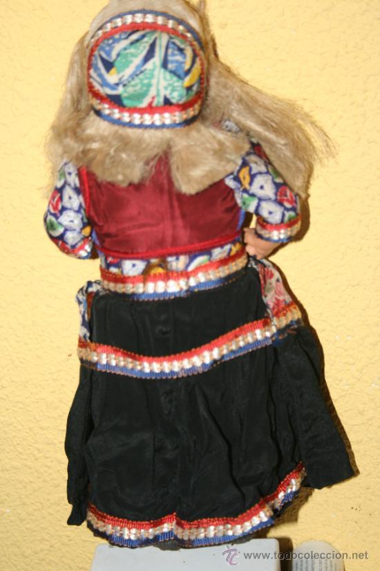 Muñecas Extranjeras: ANTIGUA MUÑECA DE CARTON Y TRAPO - Foto 3 - 32268702