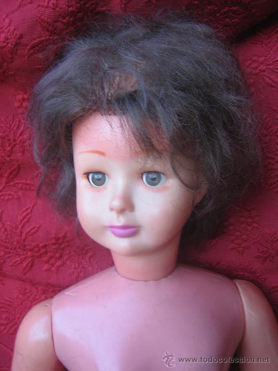 Muñecas Extranjeras: Gran y rara muñeca maniqui, andadora, creo que made in U.S.A. hacia 1950. - Foto 2 - 32917720