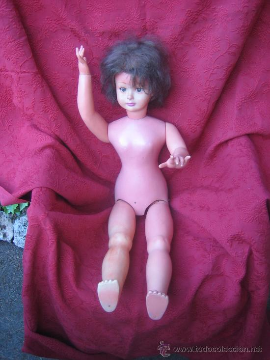 Muñecas Extranjeras: Gran y rara muñeca maniqui, andadora, creo que made in U.S.A. hacia 1950. - Foto 12 - 32917720