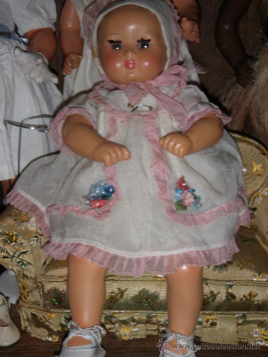 ANTIGUA MUÑECA AUTOMATA A CUERDA ITALIANA MARCA FURGA (Juguetes - Muñeca Internacional Antigua - Otras Muñecas)