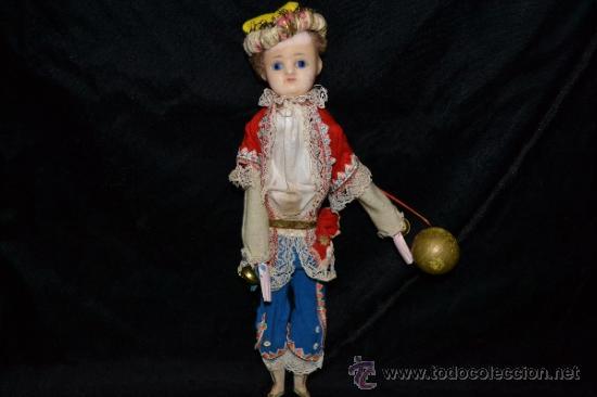 Muñecas Extranjeras: MUY ANTIGUO Y RARO MUÑECO-MUÑECA,CUERPO DE MADERA Y ALAMBRE Y CABEZA DE CERA,DE COLECCION,VER - Foto 4 - 34831014