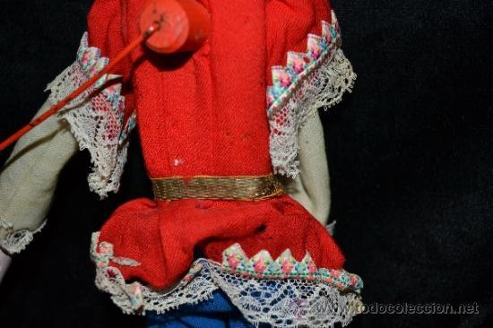 Muñecas Extranjeras: MUY ANTIGUO Y RARO MUÑECO-MUÑECA,CUERPO DE MADERA Y ALAMBRE Y CABEZA DE CERA,DE COLECCION,VER - Foto 15 - 34831014