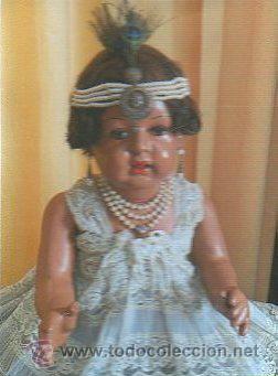 Muñecas Extranjeras: ANTIGUA MUÑECA. AÑOS 20. ESTILO GARÇONS. 70 CM ALTO. CUERPO CARTON PIEDRA. LEER - Foto 13 - 35169798