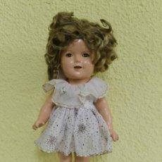 Muñecas Extranjeras: SHIRLEY TEMPLE 13 PULGADAS MUÑECA ANTIGUA.. Lote 36734023