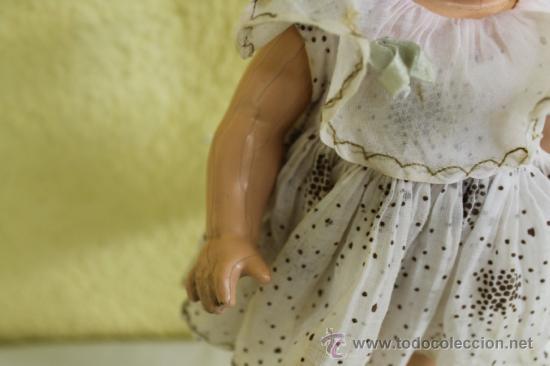 Muñecas Extranjeras: SHIRLEY TEMPLE 13 PULGADAS MUÑECA ANTIGUA. - Foto 4 - 36734023