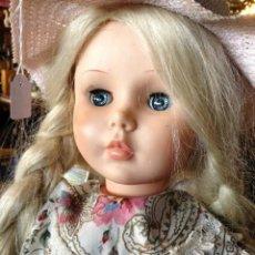 Muñecas Extranjeras: GRAN MUÑECA PRINCESS PEGGY DE HORSMAN DOLL. REGALO SOMBRERO. AÑOS 50. Lote 37061720
