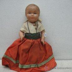 Muñecas Extranjeras: MUÑECA DE PLASTICO ANTIGUA. Lote 38456046