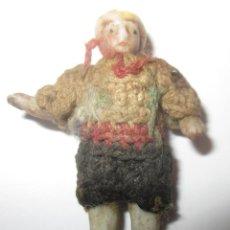 Muñecas Extranjeras: PEQUEÑÍSIMA MUÑECA ARTICULADA,EN BISCUIT,MIDE 3,40 CMS DE ALTURA,DE PRINCIPIO DEL S.XX. Lote 40303913