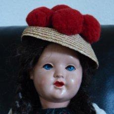 International Dolls - MUÑECA ALEMANA ANTIGUA CON TRAJE TRADICIONAL - 40401594