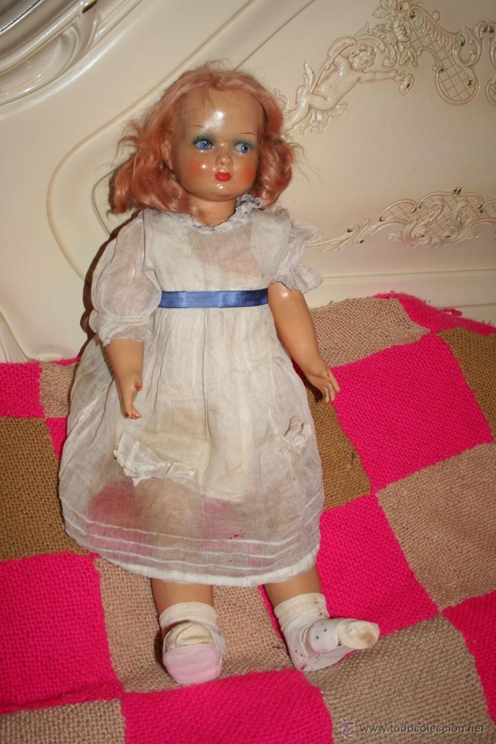 Muñecas Extranjeras: antigua muñeca de carton - Foto 2 - 40598452