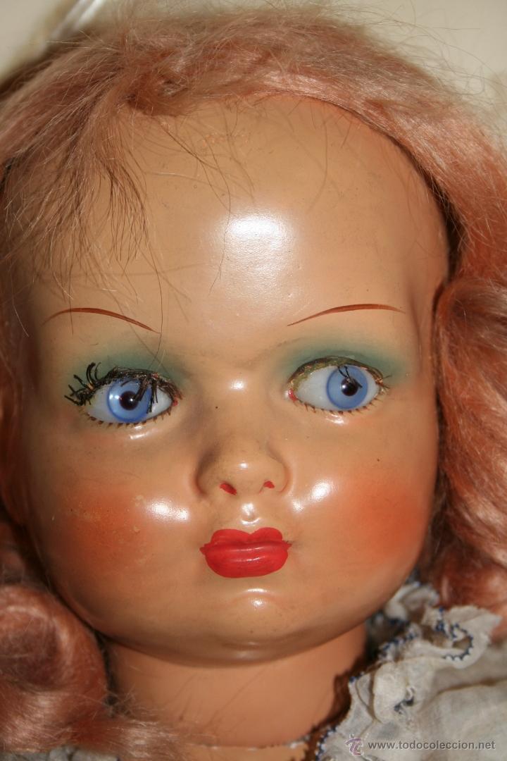 Muñecas Extranjeras: antigua muñeca de carton - Foto 4 - 40598452