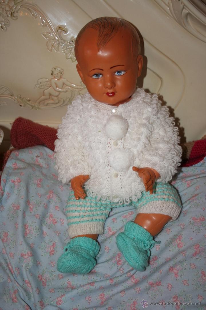 Muñecas Extranjeras: antigua muñeca muñeco bebe de celuloide frances se vende desnudo - Foto 2 - 40632082