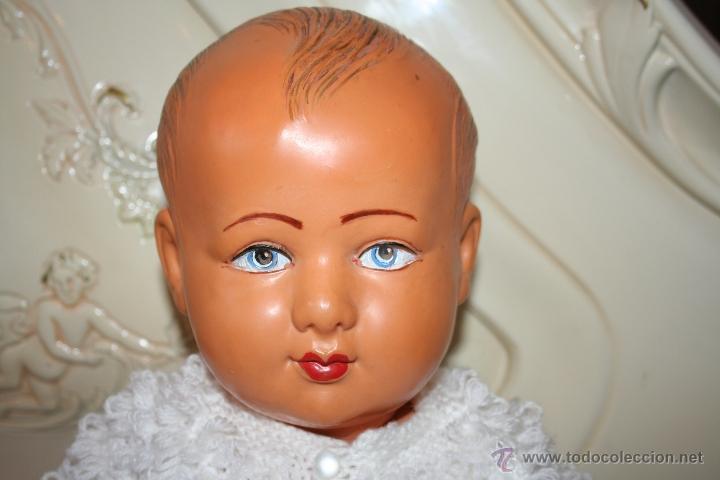 Muñecas Extranjeras: antigua muñeca muñeco bebe de celuloide frances se vende desnudo - Foto 4 - 40632082