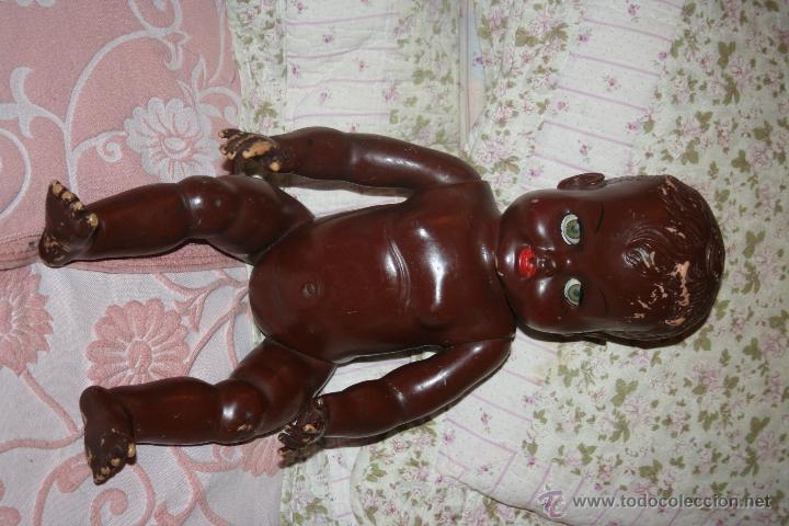Muñecas Extranjeras: ANTIGUA MUÑECO NEGRITO DE LOS LLAMADOS DE CARNE AÑOS 60 - Foto 3 - 41065271