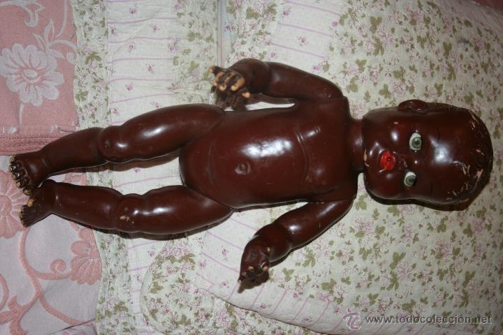 Muñecas Extranjeras: ANTIGUA MUÑECO NEGRITO DE LOS LLAMADOS DE CARNE AÑOS 60 - Foto 20 - 41065271