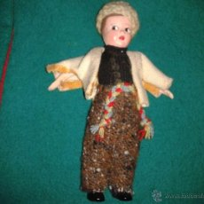 Muñecas Extranjeras: PRECIOSA MUÑECA ETNICA. CROLLY DOLL MADE IN THE REPUBLIC OF IRELAND. 1º ÉPOCA. C. 1950. Lote 41428585