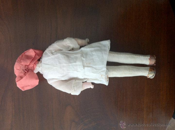 Muñecas Extranjeras: Muñeca de trapo y cartón piedra. Años 20. - Foto 5 - 42556129