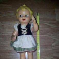 Muñecas Extranjeras: MUÑECA HOLANDESA AÑOS 60 COLECCION MUÑECAS PLASTICO DURO. Lote 43555613
