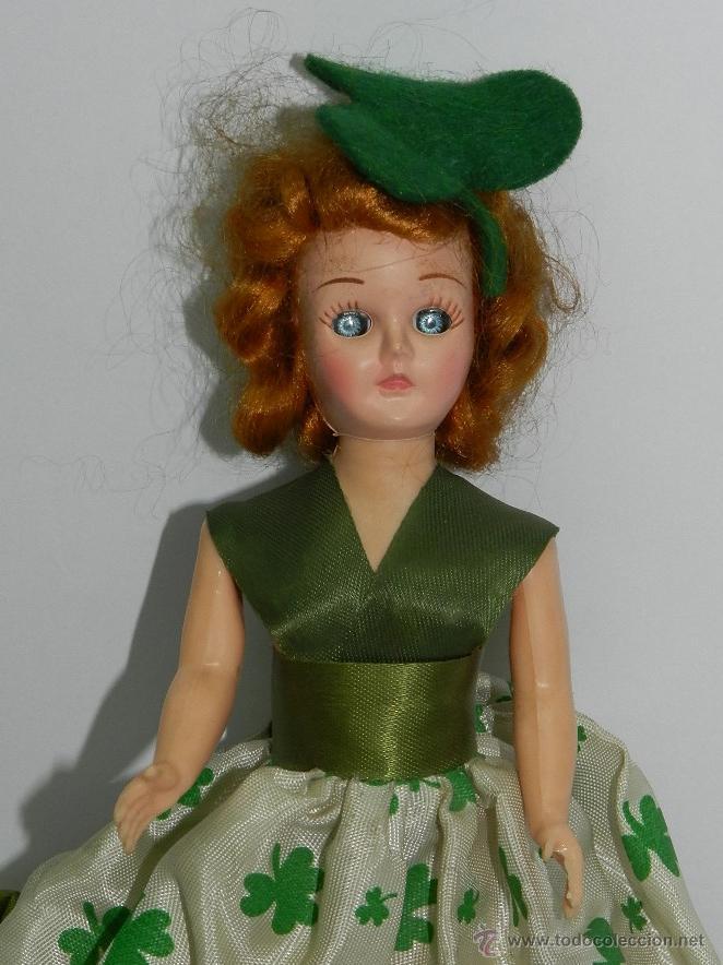 Muñecas Extranjeras: MUÑECA INGLESA O ALEMANA DE PLASTICO AÑOS 60, MIDE 20 CMS. DE ALTURA, MUY BIEN VESTIDA - Foto 2 - 43857630