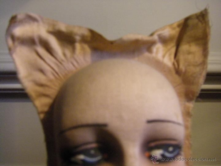 Muñecas Extranjeras: Juguete máscara o cara de tela para una muñeca de trapo de los años 30 - Foto 6 - 44069964