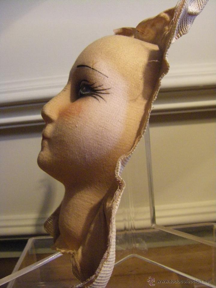 Muñecas Extranjeras: Juguete máscara o cara de tela para una muñeca de trapo de los años 30 - Foto 7 - 44069964