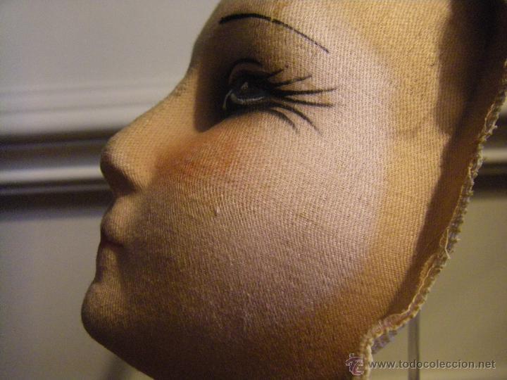 Muñecas Extranjeras: Juguete máscara o cara de tela para una muñeca de trapo de los años 30 - Foto 9 - 44069964