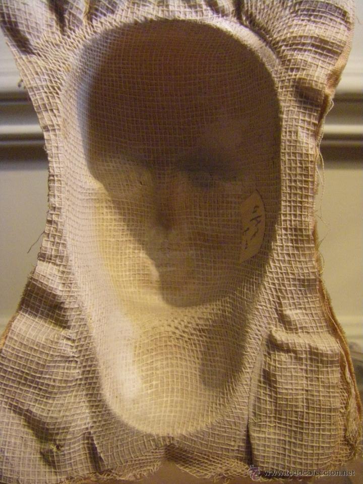 Muñecas Extranjeras: Juguete máscara o cara de tela para una muñeca de trapo de los años 30 - Foto 6 - 44075434