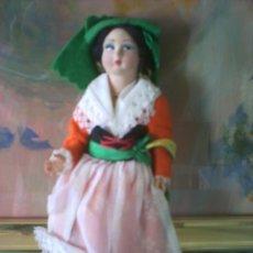 Muñecas Extranjeras: ANTIGUA MUÑECA ITALIANA DE FIELTRO. Lote 44204669