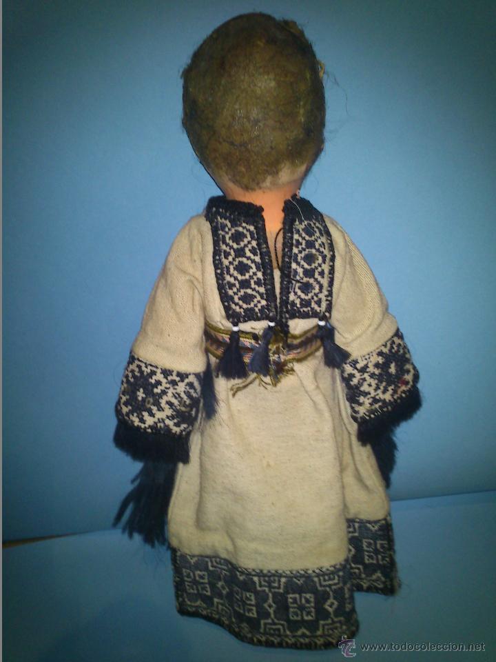 Muñecas Extranjeras: ANTIGUA MUÑECA CABEZA DE CARTON CUERPO TRAPO AÑOS 20 - Foto 3 - 46105253