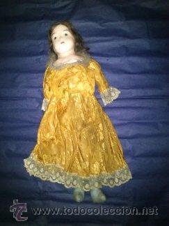 ANTIGUA MUÑECA DE CERA AÑO1914 (Juguetes - Muñeca Extranjera Antigua - Otras Muñecas)
