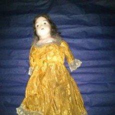 Muñecas Extranjeras: ANTIGUA MUÑECA DE CERA AÑO1914 . Lote 46145748