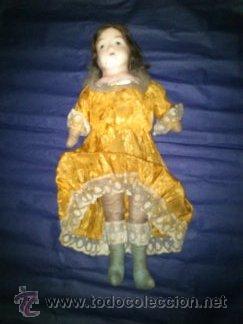 Muñecas Extranjeras: ANTIGUA MUÑECA DE CERA año1914 - Foto 4 - 46145748