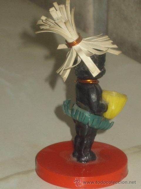 Muñecas Extranjeras: ANTIGUO PEQUEÑO MUÑECO NEGRITO DE PLASTICO DURO. 7,5 CM - Foto 4 - 46302451