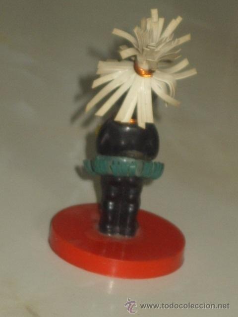 Muñecas Extranjeras: ANTIGUO PEQUEÑO MUÑECO NEGRITO DE PLASTICO DURO. 7,5 CM - Foto 5 - 46302451