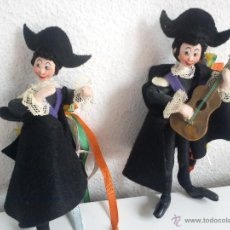 Muñecas Extranjeras: MAGNÍFICOS MUÑECOS VESTIDOS CON TRAJES TRADICIÓN SUIZA. Lote 167405745