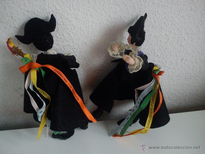 Muñecas Extranjeras: MAGNÍFICOS MUÑECOS VESTIDOS CON TRAJES TRADICIÓN SUIZA - Foto 9 - 167405745
