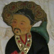 Muñecas Extranjeras: ANTIGUA MARIONETA O CUENTACUENTOS JAPONÉS S. XIX. Lote 46895543