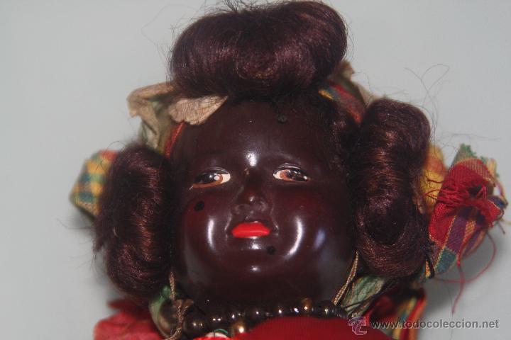 MUÑECA NEGRA FRANCESA (Juguetes - Muñeca Extranjera Antigua - Otras Muñecas)