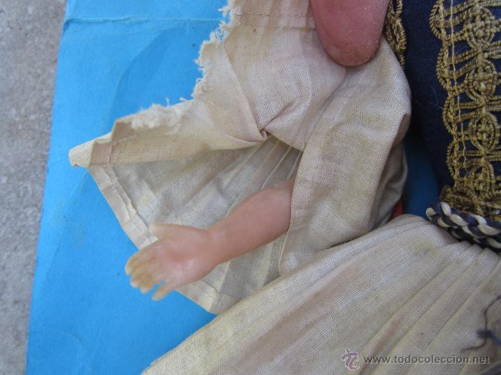Muñecas Extranjeras: muñeco etnologico griego - cabeza de cuero- procede de grecia - Foto 3 - 47681533