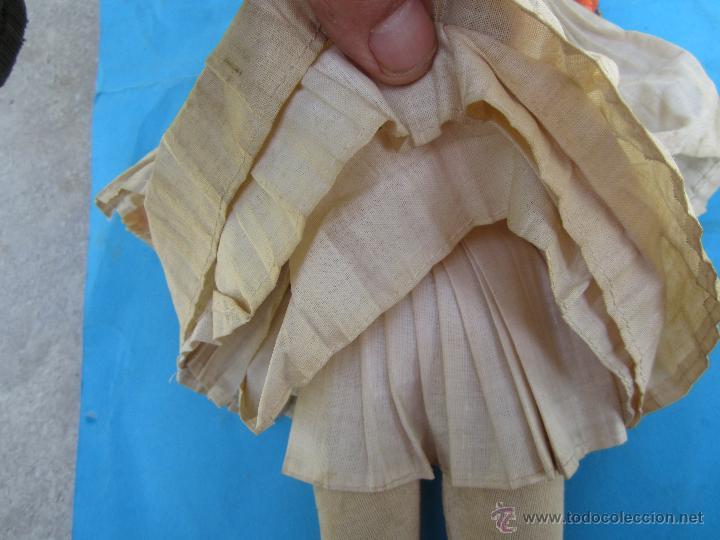 Muñecas Extranjeras: muñeco etnologico griego - cabeza de cuero- procede de grecia - Foto 5 - 47681533