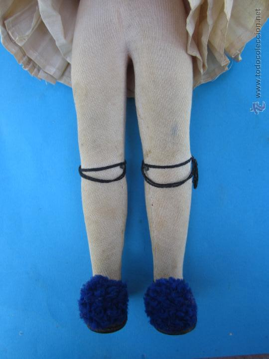 Muñecas Extranjeras: muñeco etnologico griego - cabeza de cuero- procede de grecia - Foto 6 - 47681533