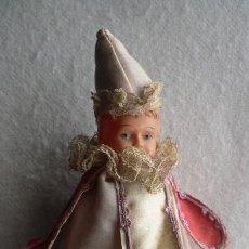 Muñecas Extranjeras: ANTIGUO MAROTTE CELULOIDE Y SEDA. Lote 47958054
