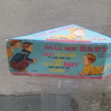 Muñecas Extranjeras: MUÑECO CALL ME BABY ROSKO TOY. Lote 48302340