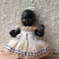 Muñecas Extranjeras: MUÑECA ALEMANA, DE TERRACOTA, AÑOS 20, ROPA ORIGINAL. Lote 48718365