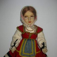 Muñecas Extranjeras: MAGNÍFICA MUÑECA ESPAÑOLA AÑOS 30, SE ENCUENTRA EN MUY BUEN ESTADO, PELUCA DE MOHAIR, OJOS Y BOCA. Lote 132333015