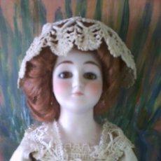 Muñecas Extranjeras: ANTIGUA MUÑECA DE PORCELANA, LADY. SE PUEDE ABONAR EN DOS PAGOS.. Lote 49590732