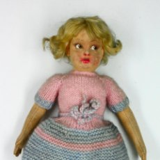 Muñecas Extranjeras: MUÑECA LENCI CON ROPA ORIGINAL, 32 CM DE LARGO.. Lote 50099250