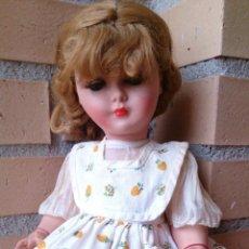 Muñecas Extranjeras: MUÑECA FRANCESA BELLA AÑOS 50-60, RHODOID . Lote 50555995
