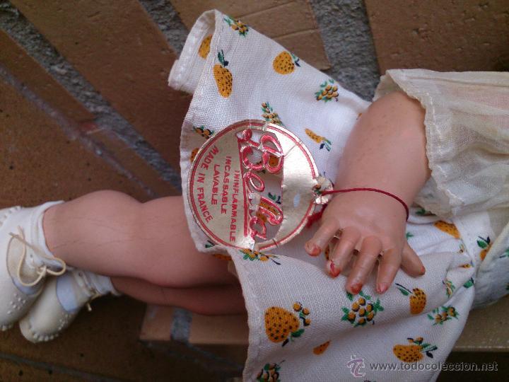 Muñecas Extranjeras: Muñeca francesa Bella años 50-60, Rhodoid - Foto 2 - 50555995